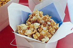 Turn on your favourite film and relax in front of the TV with the ultimate caramel popcorn!
