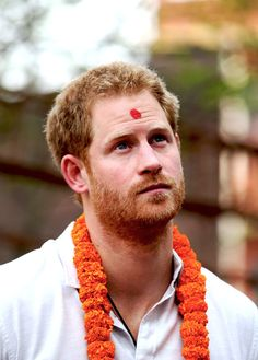 """henry-wales: """"Prince Harry September 2016 Photo Challenge ↳ [15/30] Favorite photo(s) of Harry during his 2016 trip to Nepal ↳ Happy Birthday, H! ♡ """""""