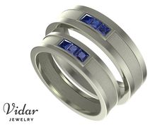 60 best His And Her Matching Wedding Bands images on Pinterest in ...
