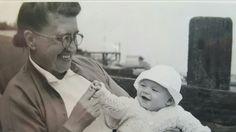 Maude Schmidt  (Smith) nee Lane with dad