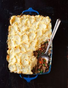 The ultimate shepherd's pie recipe starts with a simmered lamb stew, fragrant with rosemary and garlic. Capped with creamy mashed potatoes, the topping becomes golden brown in the oven.