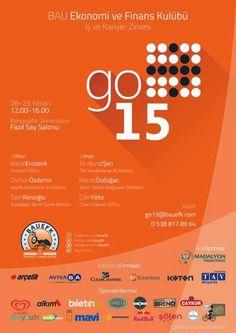 go 15, bau, bahçeşehir üniversitesi, ücretsiz etkinlik, etkinlik, iş ve kariyer eğitimi, seminer