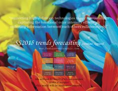 SS2015 trends forecasting Intimate Apparel - Connecting high-definition Technologies to our surroundings. Capturing the emotional color inte...