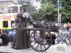 """""""Molly Malone"""" (also known as """"Cockles and Mussels"""") is a popular song which has acquired the status of an Irish anthem. It has become the unofficial anthem of Dublin City in Ireland. The song is sung by supporters of Dublin GAA, Leinster Rugby teams and Irish international rugby team, and tells the tale of a beautiful fishmonger who plied her trade on the streets of Dublin, but died young, of a fever."""