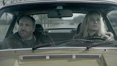 Kim Bodnia and Sofia Helin in Bron/Broen Detective, Saga, Scandinavian, Den, Fictional Characters, Fantasy Characters