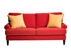 Chesapeake Apartment Sofa - with crypton fabric - spill proof, stain proof, dog proof! Sofa Home, Home Furniture, Furniture Design, Eclectic Sofas, Crypton Fabric, Apartment Sofa, Toss Pillows, Leather Sofa, Outdoor Sofa