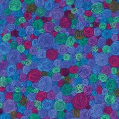 Rolled Paper- Fall Kaffe Fassett Collective- Beautiful Quilt Fabric By-The-Yard High Quality Cotton Quilting Fabric, Cotton Quilts, Sewing Crafts, Sewing Projects, Sewing Ideas, Paper Quilt, Free Spirit Fabrics, Rolled Paper, Textile Patterns
