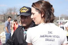 """Taryn Davis, became a military widow at 21. As days turned into weeks the support drifted away. She spent nights researching support services & looking for others who shared the same tragedy in a time of war. Feeling lost & alone, she reached out to another widows' stories of love, tragedy, & survival. She founded The American Widow Project, dedicated to the new generation of military widows.  Inspired by the strength of women """"in her shoes"""" she has found that true love is eternal."""