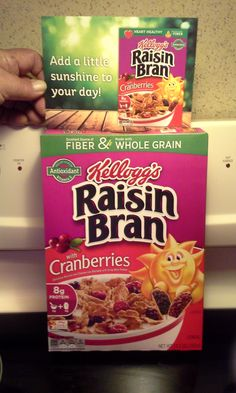 try Kellogg's Raisin Bran with Cranberries I received this for free to review and opinions are mine alone.