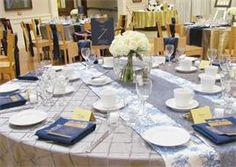 Beautiful guest table at the wedding reception #RealWedding