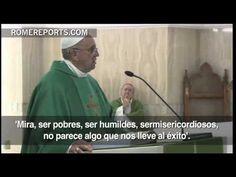 """Papa Francisco: """"Si no abrimos el corazón al Espíritu, las bienaventuranzas parecen tonterías"""""""