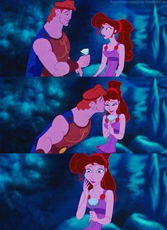 Day 21.1: favorite kiss Hercules- greatest movie, he's practically my dream man