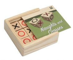 Keycraft | Wood, Retro & Traditional | Wooden Naughts & Crosses