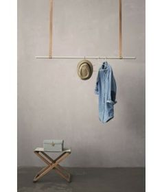 Uji, this is a VERY cool and statement like way of hanging your clothes. I love it! From Ferm Living.