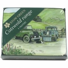 Sue Podbery Set of 6 Coasters - Land Rover