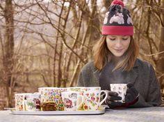 Printed Mugs | Cath Kidston AW15 |