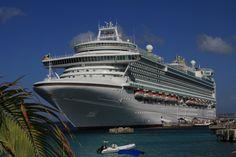 P&O cruise ship Azura, We sail the Caribbean November 2015.