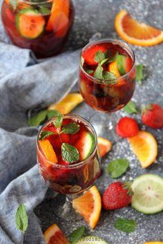 HIBISCUS KINNOW SANGRIA (Alcohol free)