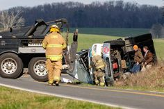 Driver cited after tanker truck overturns in Chester County H23k-5754 http://www.heraldonline.com/news/local/article52914660.html