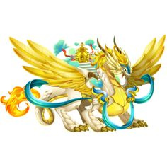 guard angel dragon----dragon city