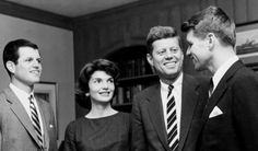 Ted, Jackie, Jack, and Bobby.