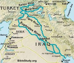 tigris and euphrates rivers - Google Search