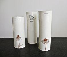 Rae Dunn- 3 vases