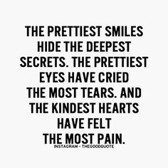The prettiest smiles hide the deepest secrets...