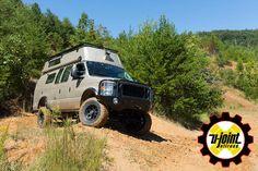 4x4 van, 4wd van, 4x4 flatbed,offroad van, 7.3 van, V4,4x4 camper van