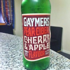 Gamers pear, cherry&apple