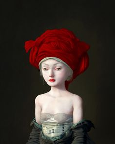 Girl in a Red Chaperone, Ray Caesar