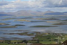 Clew Bay (Ireland). 'The 365 islands of this County Mayo bay are best viewed from the top of Croagh Patrick.' http://www.lonelyplanet.com/ireland