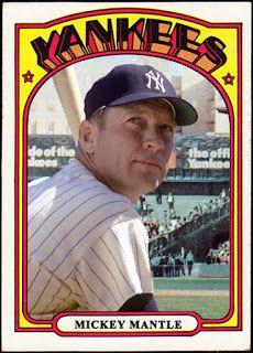 WHEN TOPPS HAD (BASE)BALLS!: FANTASY 1972 MICKEY MANTLE CARD