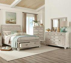 King Bedroom Set - home/home King Bedroom Sets, Bedroom Furniture Sets, Home Decor Bedroom, Modern Bedroom, Home Furniture, Furniture Stores, White Bedroom Set, Oak Bedroom, Comfy Bedroom