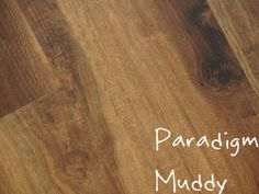 Paradigm, Muddy embossed vinyl flooring. Available at HFOfloors.com.