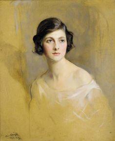 Lady Rachel Cavendish, later Viscountess Stuart of Findhorn, Philip Alexius de Laszlo