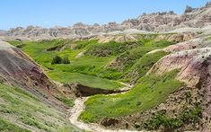 """""""Spring In The Badlands"""" #landscape #photography by John Bailey"""