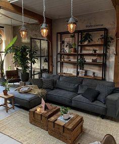Interior Design Living Room, Living Room Designs, Interior Livingroom, Design Interior, Interior Colors, Living Room Inspiration, My New Room, Home Living Room, Rustic Living Room Decor