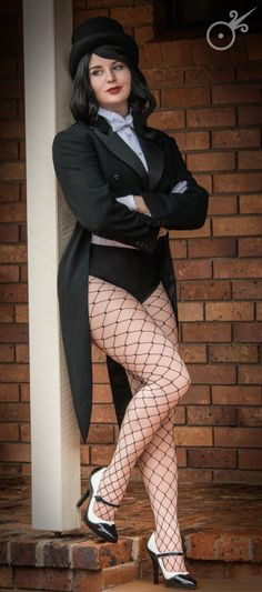 #Cosplayer Amyable as #Zatanna from #DCComics