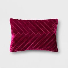 Merlot Pleated Velvet Lumbar Pillow - Opalhouse for sale online Bedroom Built Ins, Bunk Beds Built In, Young House Love, Diy Window Shades, Pea Gravel Patio, Shed Storage, Storage Ideas, Backyard Storage, Tool Storage