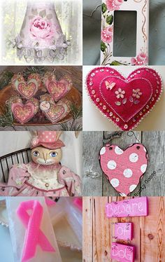 Pretty in Pink by Christi Hocking on Etsy--Pinned with TreasuryPin.com