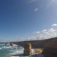 Had worse Thursdays 12 Apostles gleaming in the sunshine #yorkshiretravellers #australia #greatoceanroad #12apostles by yorkshiretravellers http://ift.tt/1ijk11S