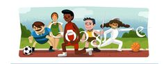 Opening ceremony @London2012: Google continues the doodle tradition #london2012