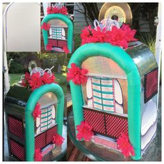 Jukebox Made From Cardboard Pool Noodles That I Melted To