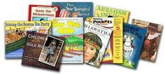 Free American History program, GuestHollow.com. Literature based.  Books chosen by a homeschool family for their children to learn history through reading, videos, crafts, etc.  Pick and choose what you like/can find available at libraries near you.  Good ideas.
