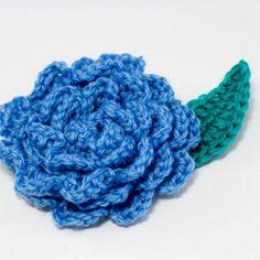 Leaf for Crochet Flower   AllFreeCrochet.com