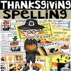 This product is part of a growing Holiday Spelling bundle! This holiday bundle is packed with hands-on activities that can be easily differentiated for your students! Thanksgiving spelling words. These are great for workshop, wordwork or literacy stations. The following interactive actives are inclu... Literacy Stations, Spelling Words, Hands On Activities, Differentiation, Word Work, Teacher Resources, Workshop, Thanksgiving, Teaching