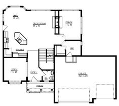 Plan HHF-1707 Main Floor Plan