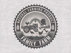 Business Logo - Business Branding - Rooster - Hen - Emblem Logo - Badge - Eco…