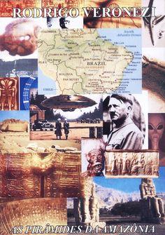 Mistérios no Planeta: AS PIRÂMIDES DA AMAZÔNIA